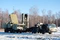 Picture vegetation, military vehicle, snow, Russia, powerful, yuki, star, missile tube, Russias Almaz Central Design Bureau, ...
