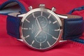 Picture Blue, Steel, Watch, Leather, Jack Pierre