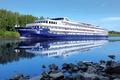 Picture stay, nature, ship, Russia, Volga, tourism