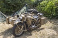 Picture world, Second, period, war, motorcycle, BMW R-75