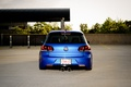 Picture Golf, golf, volkswagen, tuning, blue, low, back