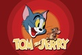 Picture cat, cartoon, mouse, saver, Tom and Jerry, Tom and Jerry