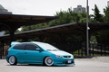 Picture honda, tuning, japan, low, wheels, fit, jazz, stance, jdm