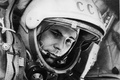 Picture USSR, Yuri Alekseyevich Gagarin, the first cosmonaut