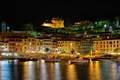 Picture night, lights, boats, lighting, Italy, harbour, Porto Santo Stefano