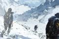 Picture Lara Croft, Rise of the Tomb Raider, Game, Mountains, Art, Game, Lara Croft