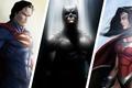 Picture DC Comics, Batman, Superman, Wonder Woman, Superheroes, Trinity.