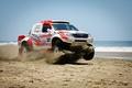 Picture Sand, Sea, Toyota, Hilux, Rally, Dakar, Dakar, Toyota