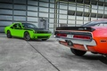 Picture Dodge, T/A, wallpapers, car, green, Challenger