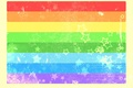 Picture color, rainbow, Strips