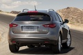 Picture mountains, Sport Utility Vehicle, FX35, road, SUV, landscape, infiniti
