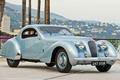 Picture retro, panorama, T23, Talbot-Lago, Talbot, Teardrop Coupe, by Figoni & Falaschi, the front, 1938