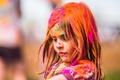 Picture girl, utah, paint, festival of colors, salem
