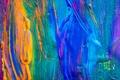 Picture acrylic, colors, paint, texture, paint