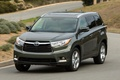 Picture toyota, highlander, speed, Toyota, Crossover