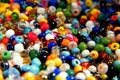 Picture a lot, Colorful, beads