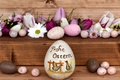 Picture flowers, eggs, holiday, tulips, Easter, eggs, Easter, Board