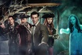 Picture look, girl, gun, weapons, fiction, ship, actress, pirate, actor, captain, male, gun, sword, Doctor Who, ...
