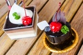 Picture cherries, the sweetness, cakes, chocolate