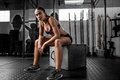 Picture Dani, fitness, the gym, look, figure