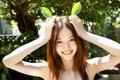 Picture Smile, Funny, Beauty, Model, Calm, Nature, Girl, Asian, Rina Aizawa, Cute