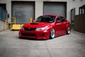 Picture Subaru, Impreza, WRX, Red, Sedan