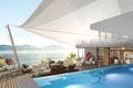 Picture luxury, Villa, terrace, pool, boat, lake