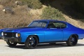 Picture chevelle, muscle cer, tuning, tuning, chevrolet, muscle car, blue