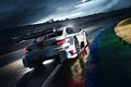 Picture Morning, Track, M Power, Race, Competition, White, DTM, Team, BMW, Rain