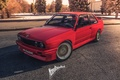 Picture red, moscow, ironhospital, motorsport, mgu, bmw, russia, e30, stance, power, good, look
