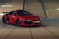 Picture red, ladder, car, Prior-Design, stage, the front, Audi, GT650