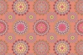 Picture ornament, pattern, texture, pink background