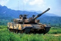 Picture К1А1 MW, mountains, landscape, Tank