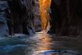 Picture gorge, river, light, canyon, stones