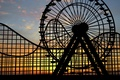 Picture widescreen, mood, widescreen, background, nostalgia, childhood, HD wallpapers, Wallpaper, sunset, Ferris wheel, full screen, background, ...