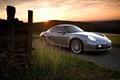 Picture Porsche, Grey, Cayman