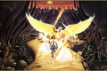 Picture angels, Rodney Matthews, picture, road