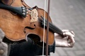 Picture the game, violin, music