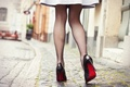 Picture dress, legs, heels