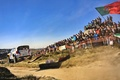 Picture Volkswagen, Flies, People, White, Rally, Heat, Rally, Machine, Portugal, Auto, Fans, WRC, Speed, Polo, Sport, ...