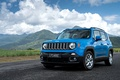 Picture jeep, renegade, mountains, Jeep, the sky, clouds, Renegade