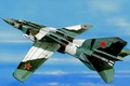 Picture jet, aviation, painting, Mikoyan-Gurevich MiG-23, war, art