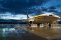 Picture aviation, the plane, Boeing 737