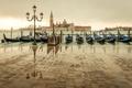 Picture sea, the city, overcast, island, Marina, Italy, lantern, Venice, Italy, gondola, Venice, San Giorgio Maggiore, ...