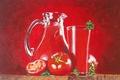 "Picture canvas, picture, still life, acrylic, ""Salt"", the artist M. Tarakanova"