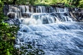 Picture waterfall, river, cascade