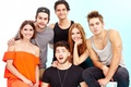 Picture the series, actors, Cody Christian, Shelley Hennig, The cub, Dylan Spray Berry, Teen Wolf, Tyler ...