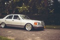 Picture Mercedes-Benz, w126, stance