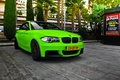 Picture green, BMW, Coupe, 1 series