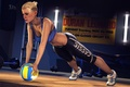 Picture the ball, training, girl, Cassie Cage, Mortal Kombat, the gym, fighter